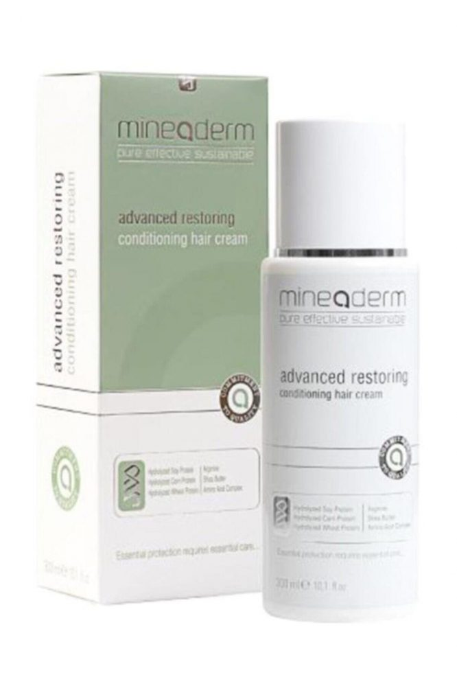 mineaderm advanced restoring conditioning hair cream 300 ml 3017 Mineaderm Advanced Restoring Conditioning Hair Cream 300 ml Dermologue