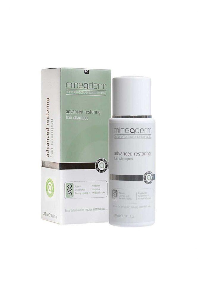 mineaderm advanced restoring hair shampoo 300 ml 2820 Mineaderm Advanced Restoring Hair Shampoo 300 ml Dermologue