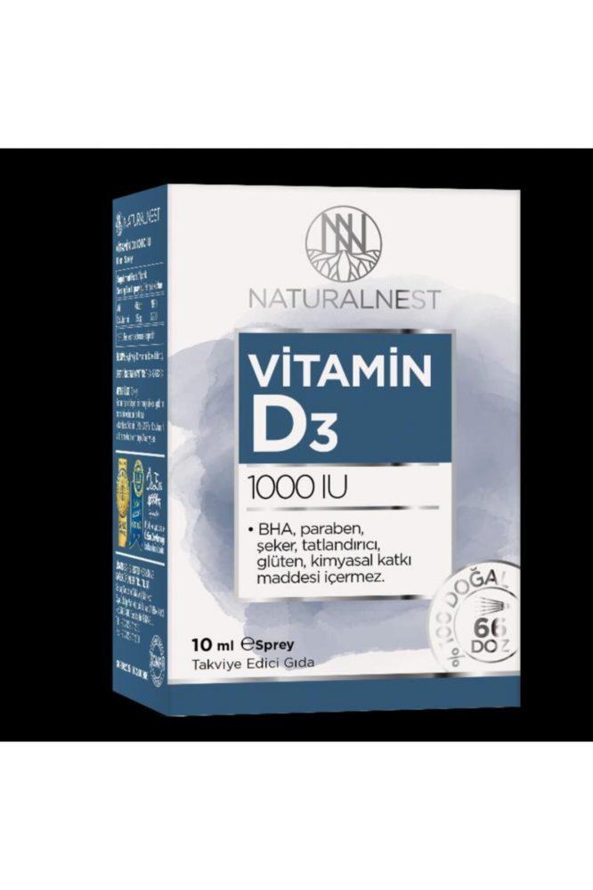 natural nest d3 1000 iu 10 ml 2866 Natural Nest D3 1000 IU 10 ml Dermologue