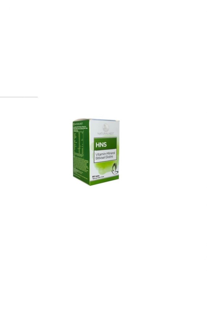 natural nest hns vitamin mineral bitkisel ekstre 60 tablet 3074 Natural Nest HNS Vitamin Mineral Bitkisel Ekstre 60 Tablet Dermologue
