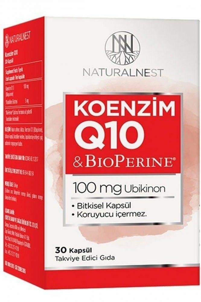 natural nest koenzim q10 30 kapsul 2051 Natural Nest Koenzim Q10 30 Kapsül Dermologue