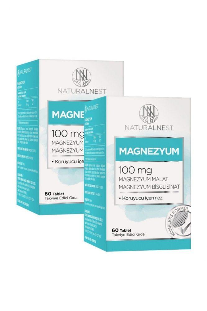 naturalnest magnezyum 60 tablet 2 kutu 695 1 Naturalnest Magnezyum 60 Tablet 2 Kutu Dermologue