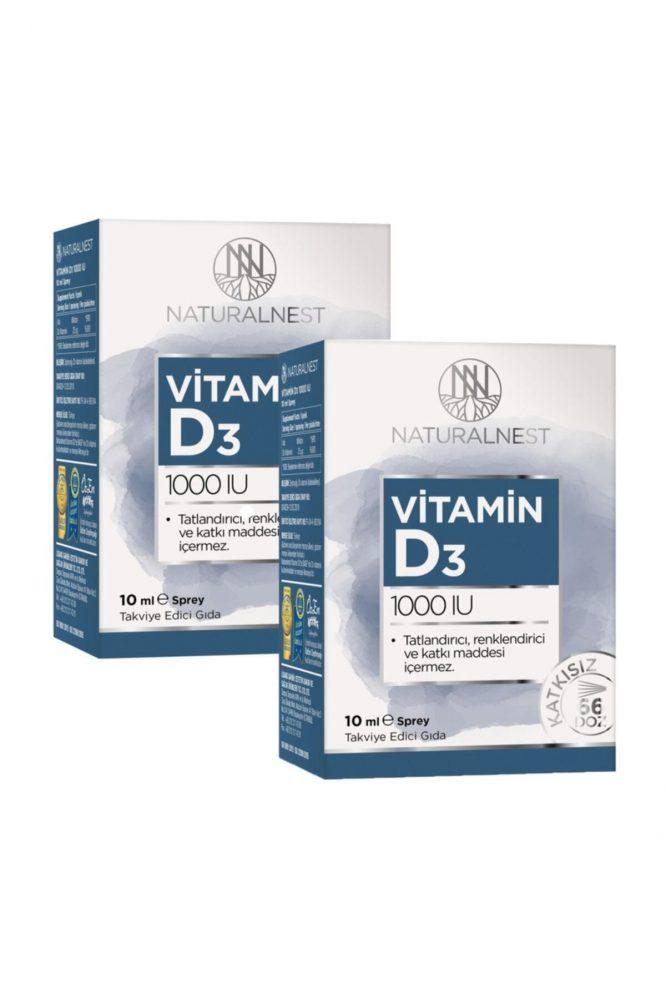 naturalnest vitamin d3 1000 iu 10 ml 2 kutu 3109 Naturalnest Vitamin D3 1000 Iu 10 ml 2 Kutu Dermologue