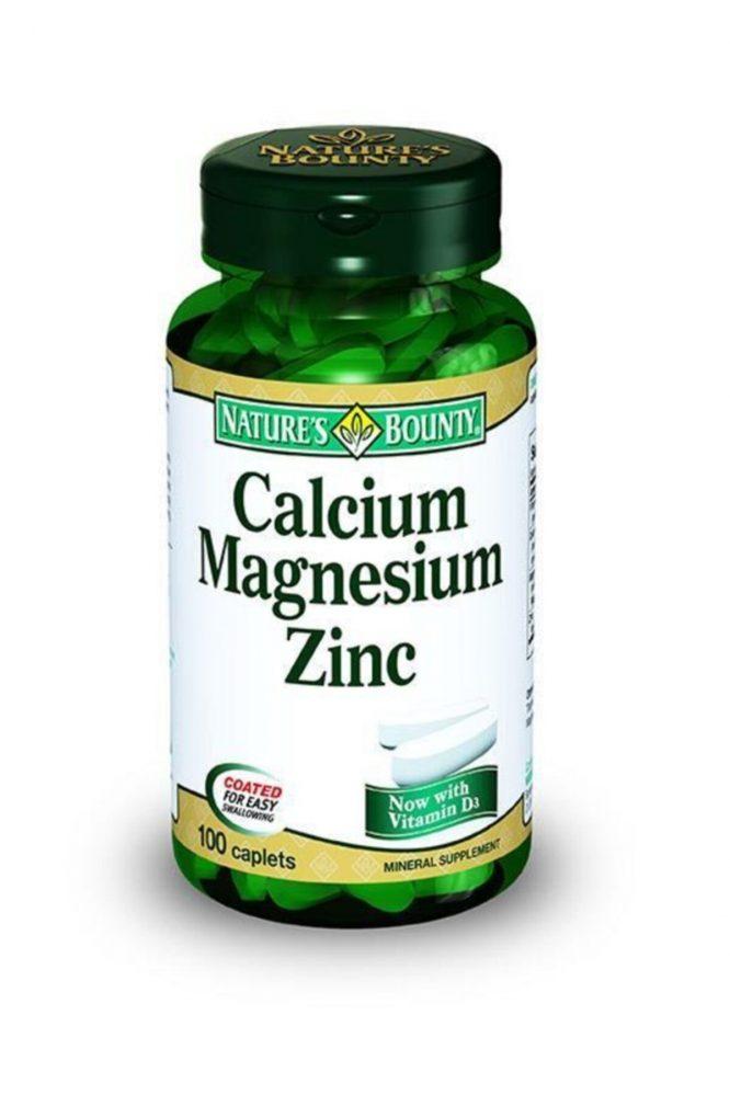 nature s bounty calcium magnesium zinc 100 tablet 2878 Nature's Bounty Calcium Magnesium Zinc 100 Tablet Dermologue