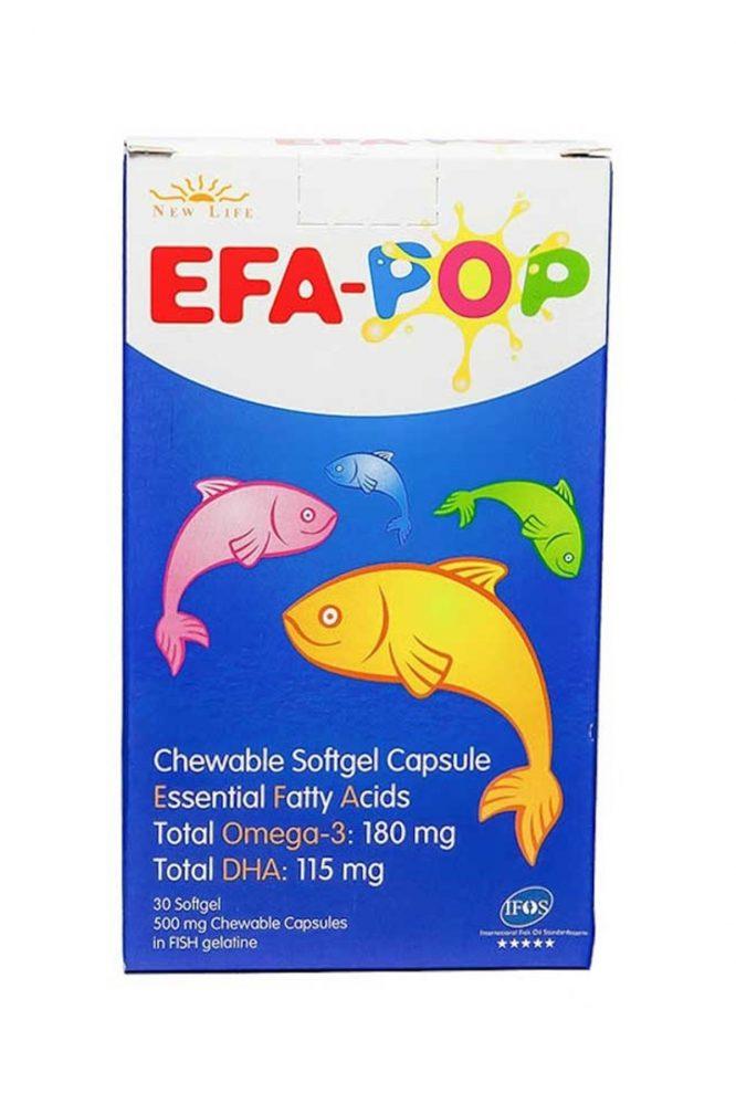 new life efa pop 30 kapsul 1375 New Life Efa Pop 30 Kapsül Dermologue