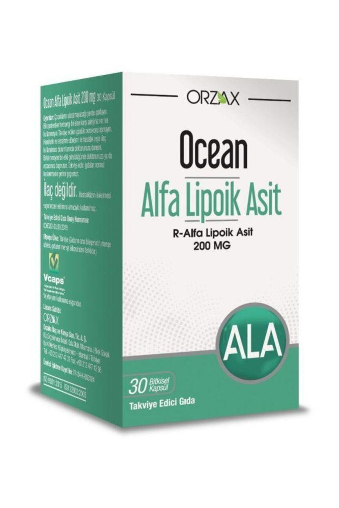 ocean alfa lipoik asit 200 mg 30 tablet 3375 Ocean Alfa Lipoik Asit 200 mg 30 Tablet Dermologue
