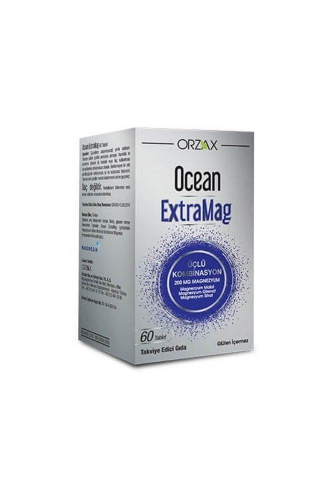 ocean extramag 200 mg magnezyum 60 tablet 2987 Ocean Extramag 200 Mg Magnezyum 60 Tablet Dermologue