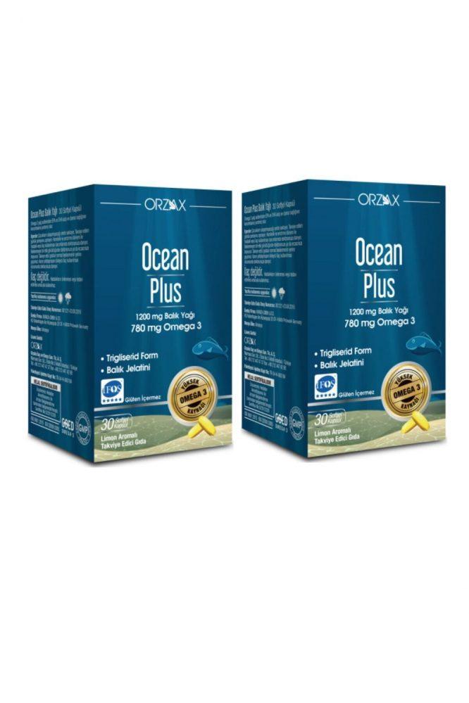 ocean plus omega 3 1200 mg 30 kapsul x2 adet 3143 Ocean Plus Omega 3 1200 mg 30 Kapsül X2 Adet Dermologue