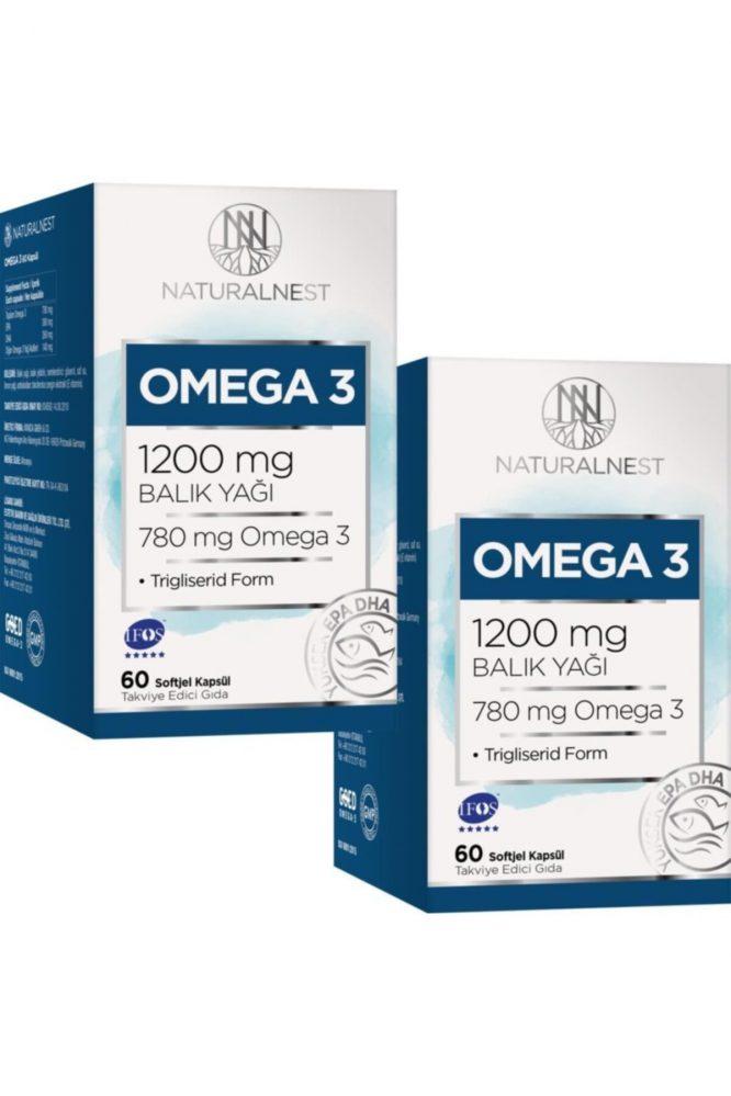 omega 3 balik yagi 1200 mg 60 kapsul 2 kutu 484 Omega 3 Balık Yağı 1200 mg 60 Kapsül 2 Kutu Dermologue