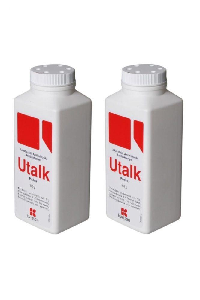 pudra antibakteriyel 100g 2 adet 3073 Utalk Pudra Antibakteriyel 100g 2 Adet Dermologue