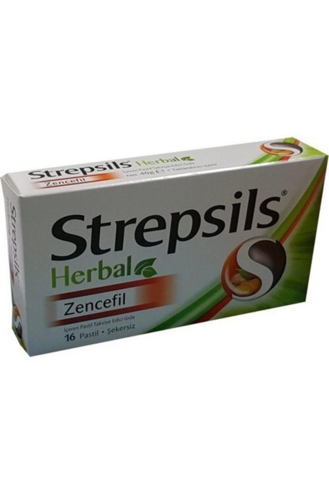 strepsils herbal zencefil aromali 16 pastil 3318 Strepsils Herbal Zencefil Aromalı 16 Pastil Dermologue