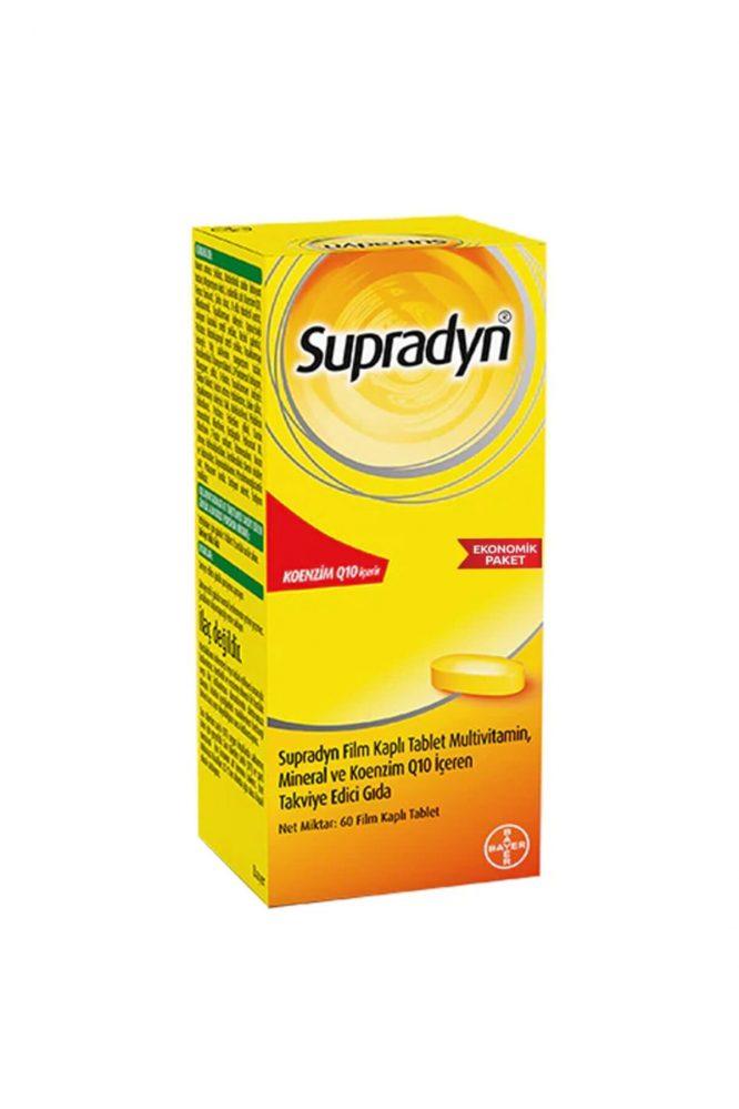 supradyn koenzim q10 60 tablet 3452 Supradyn Koenzim Q10 60 Tablet Dermologue