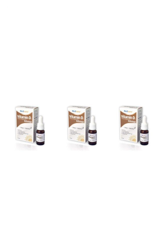 vitamin d3 intense 1000 iu 5 ml sprey 3 lu paket 3271 Vitamin D3 Intense 1000 Iu 5 Ml Sprey 3'lü Paket Dermologue