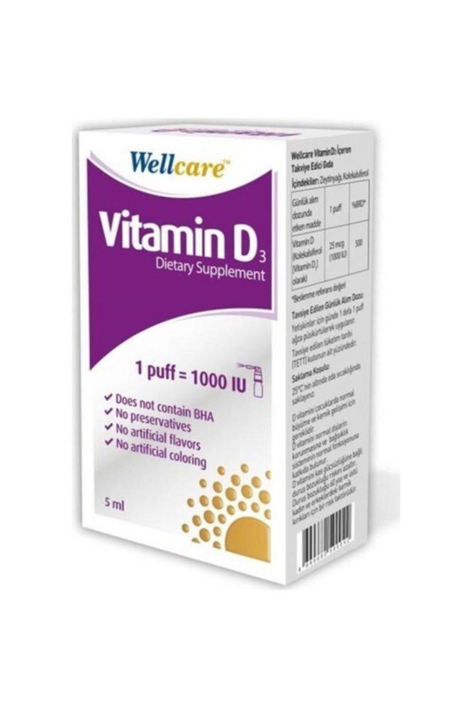 wellcare vitamin d3 1000 iu 5 ml 3086 Wellcare Vitamin D3 1000 IU 5 ml Dermologue