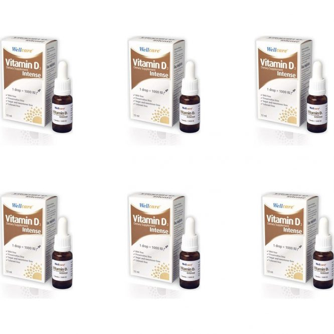 wellcare vitamin d3 intense 1000 iu 5 ml x 6 li 3269 Wellcare Vitamin D3 Intense 1000 Iu 5 ml x 6'lı Dermologue