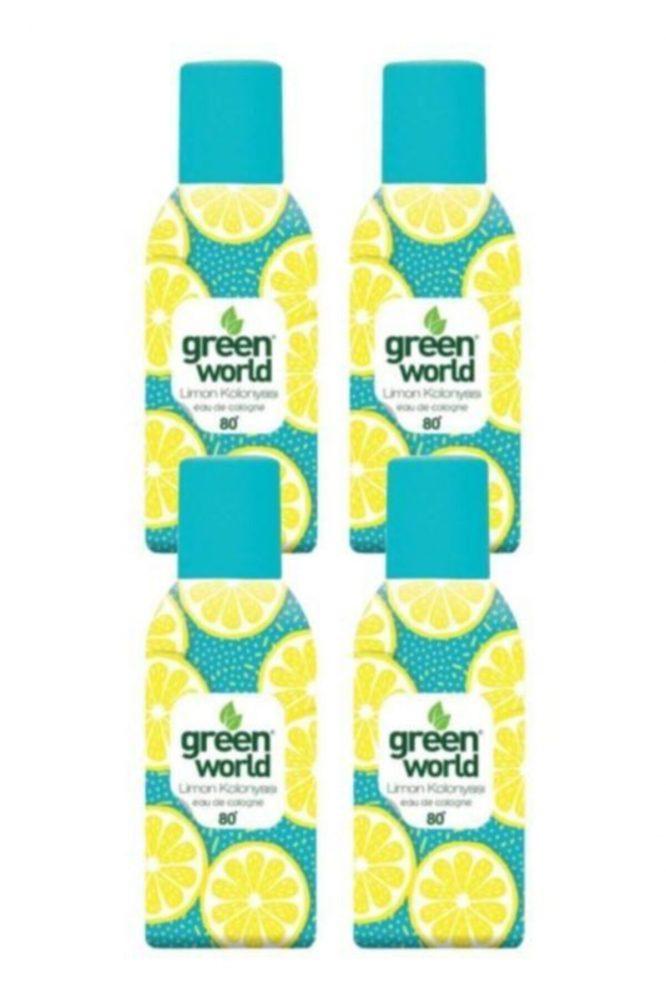 aerosol sprey kolonya limon 80 derece 150 ml x 4 adet 4516 Aerosol Sprey Kolonya Limon 80 Derece 150 ml X 4 Adet Dermologue