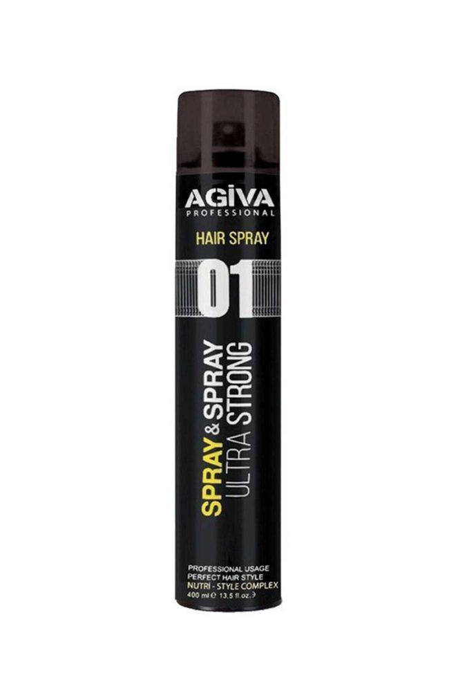 agiva sac sprey ultra strong 400 ml 4401 Agiva Saç Sprey Ultra Strong 400 ml Dermologue