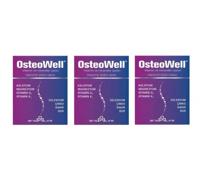 aris life osteowell 30tablet 3 lu 4254 aris life osteowell 30Tablet 3 lü paket Dermologue