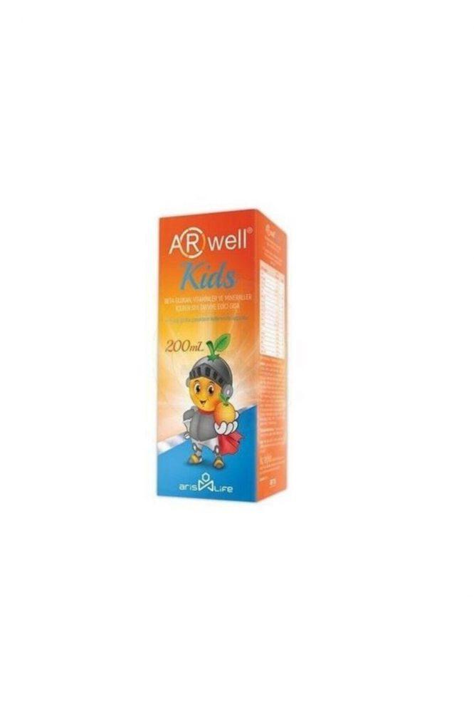 arwell kids beta glukan vitamin ve mineral 200 ml 4493 Arwell Kids Beta Glukan, Vitamin ve Mineral 200 ml Dermologue