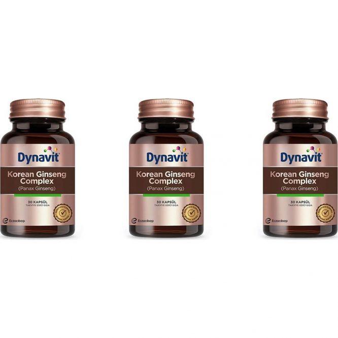 dynavit korean ginseng complex 3 adet 4202 dynavit Korean Ginseng Complex - 3 Adet Dermologue