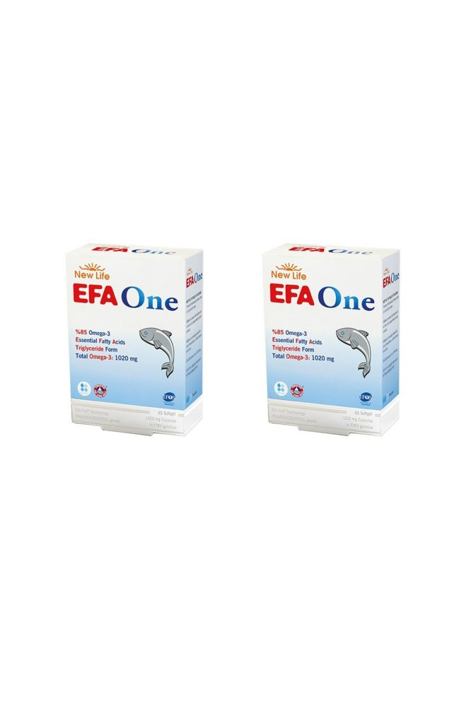 efa one 45 kapsul 2 li paket 4098 new life Efa One 45 Kapsül 2'li Paket Dermologue