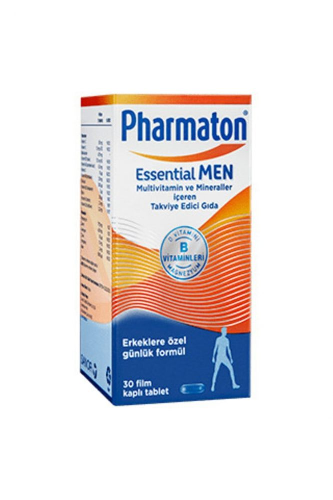 essential man woman 4614 Pharmaton Essential Man & Women 30 Kapsül Kofre Dermologue