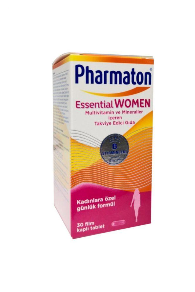 essential man woman 4615 Pharmaton Essential Man & Women 30 Kapsül Kofre Dermologue