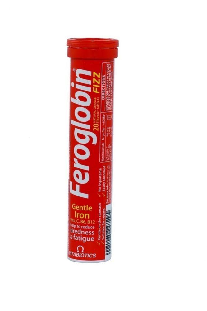 feroglobin fizz 20 tablet 4496 Feroglobin Fizz 20 Tablet Dermologue