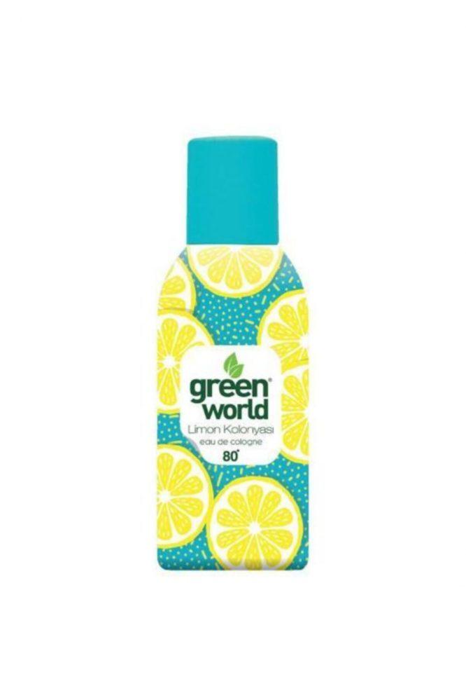 green world limon 150 ml sprey kolonya 4429 Green World Limon 150 ml Sprey Kolonya Dermologue