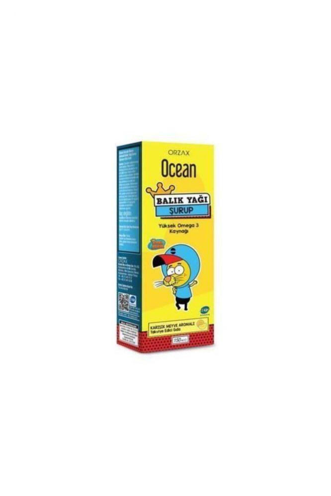 ocean omega 3 karisik meyveli balik yagi surubu kral sakir 150 ml 2848 Ocean Omega 3 Karışık Meyveli Balık Yağı Şurubu Kral Şakir 150 ml Dermologue