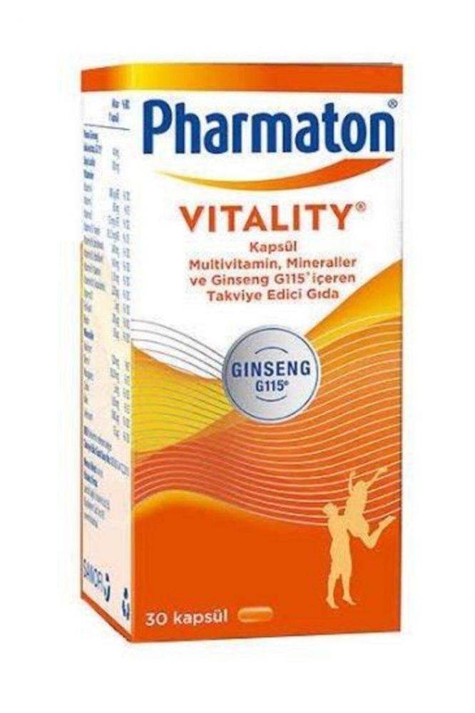 pharmaton vitality 30 kapsul 4338 Pharmaton Vitality 30 Kapsül Dermologue