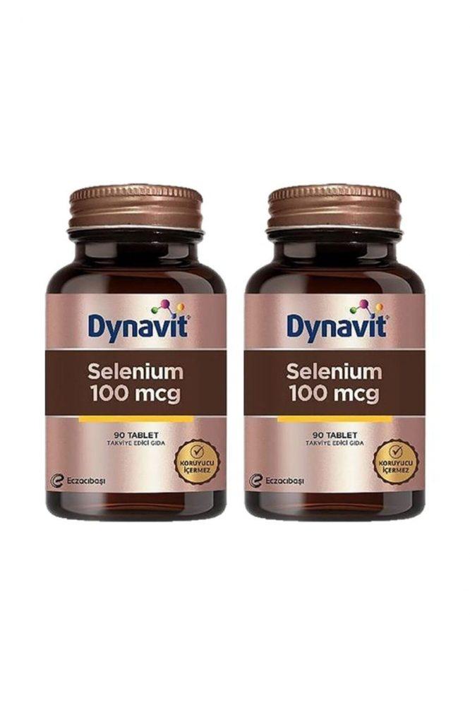 selenium 100 mcg 90 tablet x 2 adet 4188 dynavit Selenium 100 mcg 90 Tablet x 2 Adet Dermologue