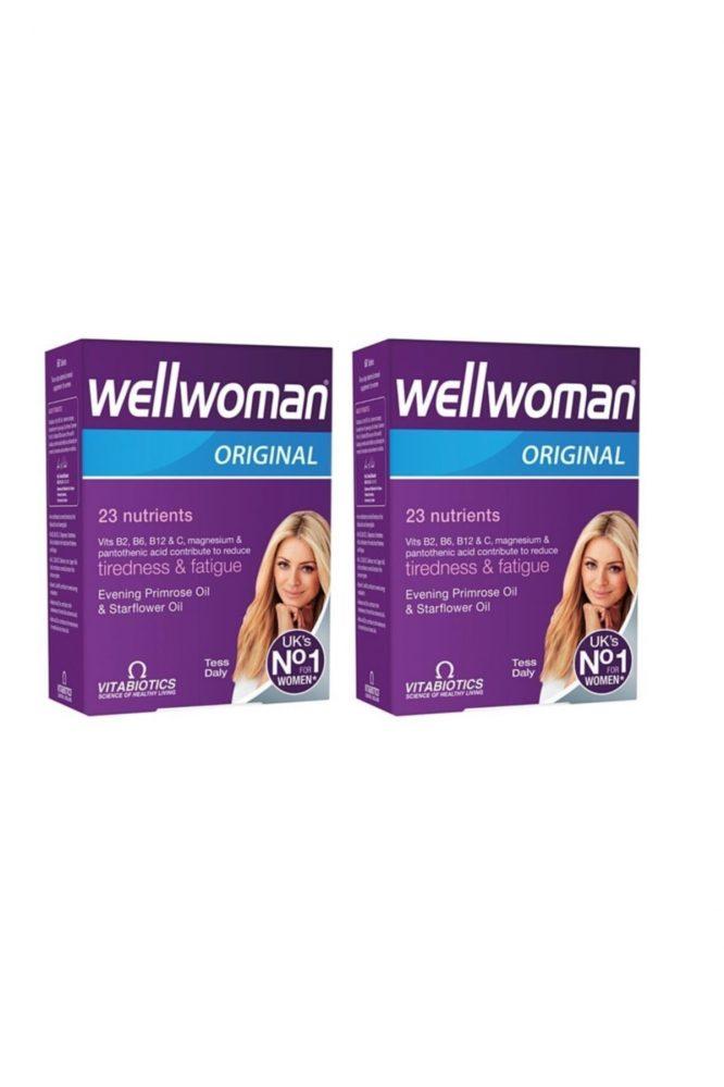 wellwoman 60 tablet 2 li paket 3824 Wellwoman 60 Tablet 2'li Paket Dermologue