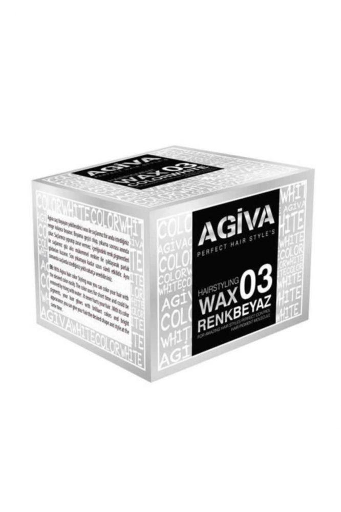 agiva 03 beyaz renkli color wax 120 gr 4816 Agiva 03 Beyaz Renkli Color Wax 120 gr Dermologue