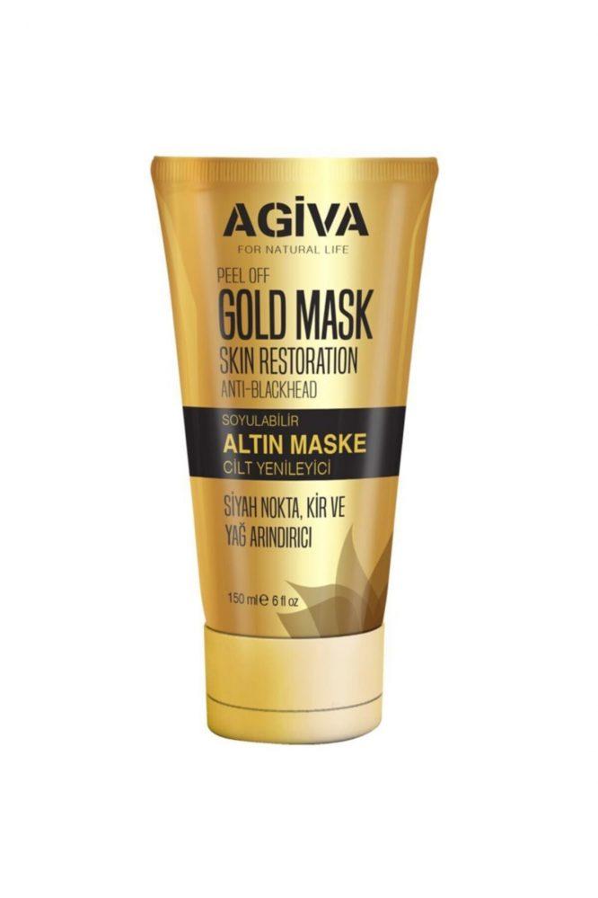 agiva cilt maskesi 150 ml 4832 Agiva Gold Cilt Maskesi 150 ml Dermologue