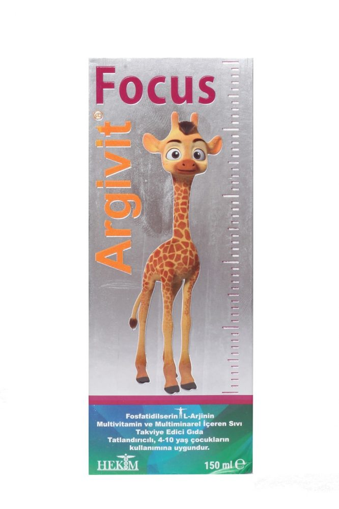 argivit focus surup 150 ml 4835 Argivit Focus Şurup 150 ml Dermologue