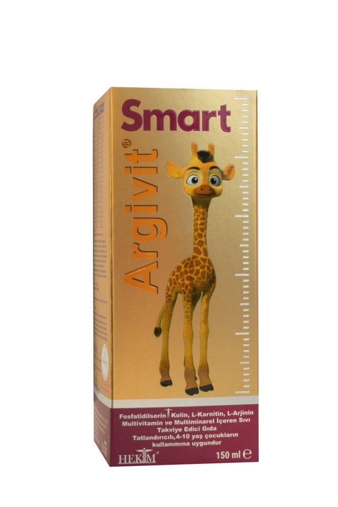 argivit smart surup 150 ml 4960 Argivit Smart Şurup 150 ml Dermologue