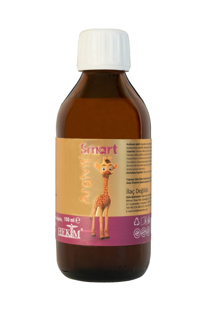 argivit smart surup 150 ml 4961 Argivit Smart Şurup 150 ml Dermologue