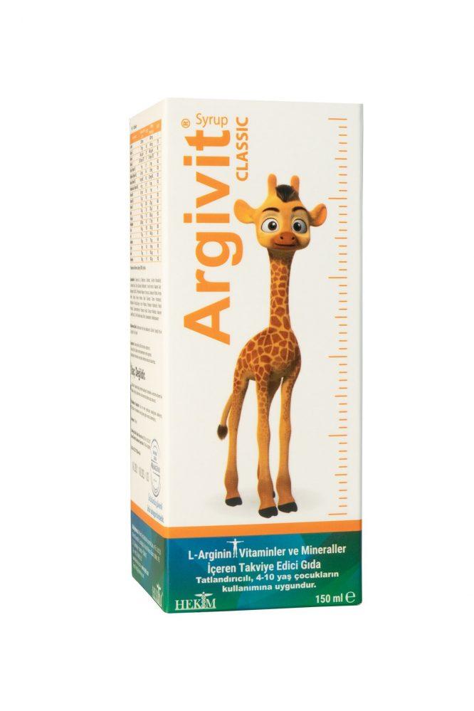 argivit vitamin mineral l arjinin surup 150 ml 4836 Argivit Vitamin Mineral L-Arjinin Şurup 150 ml Dermologue