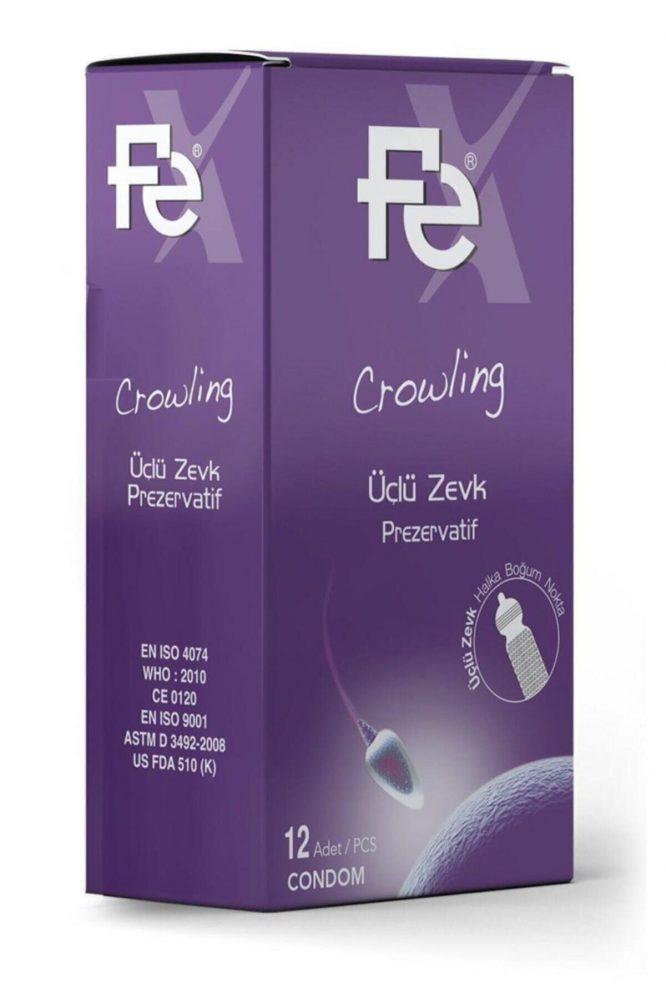 fe crowling uclu zevk prezervatif 12 li 4755 Fe Crowling Üçlü Zevk Prezervatif 12'li Dermologue