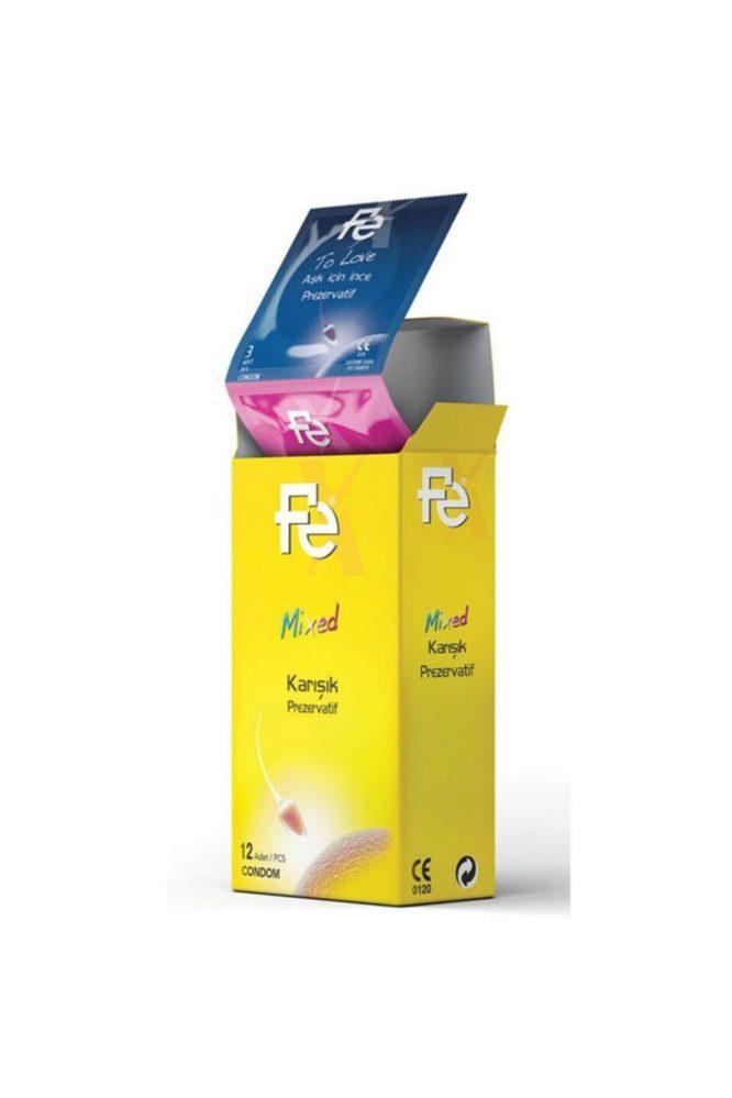 fe prezervatif mixed karisik 12 li 4758 Fe Prezervatif Mixed Karışık 12'li Dermologue