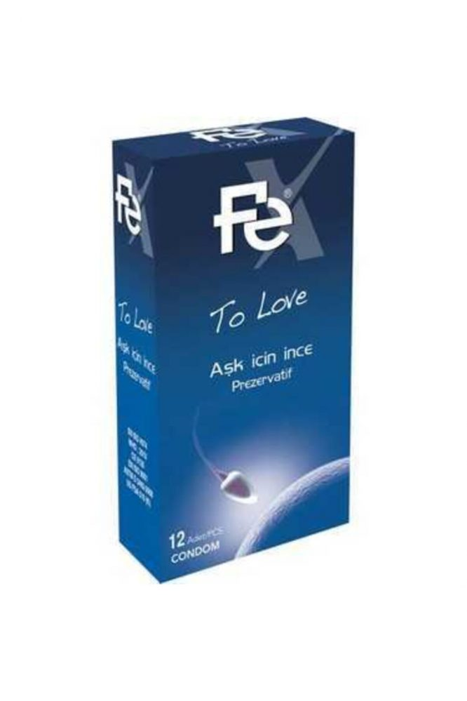 fe to love ask icin ince prezervatif 12 li 4759 Fe To Love Aşk için İnce Prezervatif 12'li Dermologue