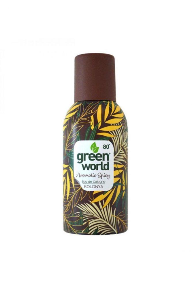 green world aerosol kolonya aromatic spicy 150 ml 4985 Green World Aerosol Kolonya Aromatic Spicy 150 Ml Dermologue