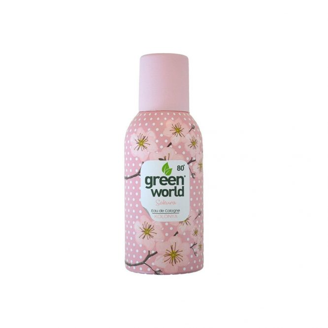 green world aerosol kolonya sakura 4984 Green World Aerosol Kolonya Sakura Dermologue