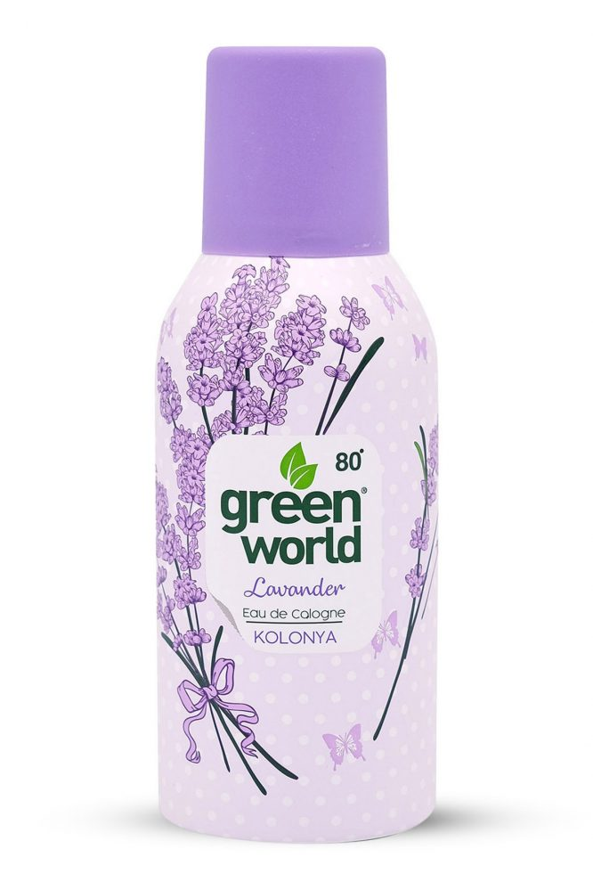green world lavanta kolonya sprey 150 ml 80 derece 4981 Green World Lavanta Kolonya Sprey 150 ml 80 Derece Dermologue