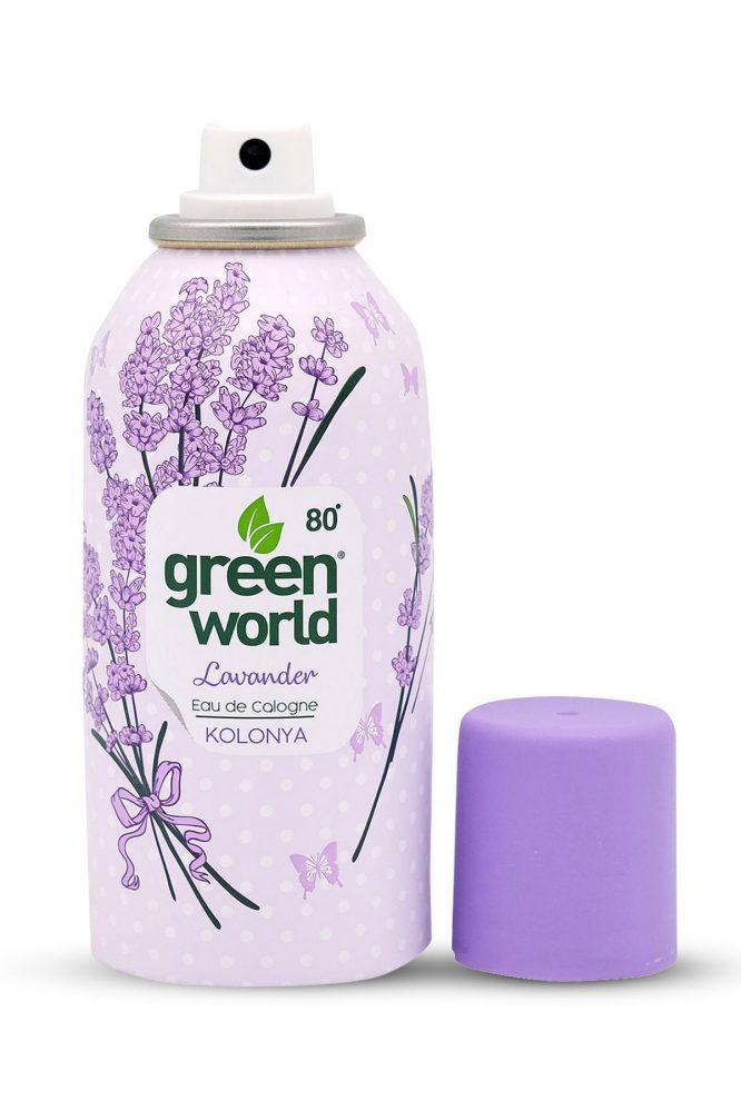 green world lavanta kolonya sprey 150 ml 80 derece 4982 Green World Lavanta Kolonya Sprey 150 ml 80 Derece Dermologue