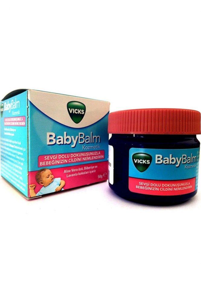 vicks baby balm 50 gr 4594 Vicks Baby Balm 50 gr Dermologue